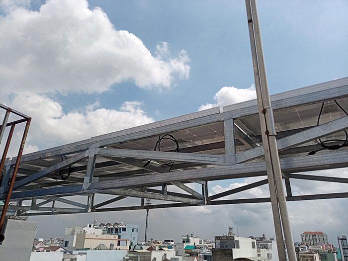dự án điện mặt trời hòa lưới 12 KW cho anh Trí ở Tân Phú 9