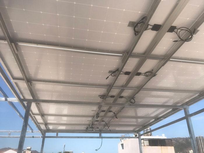 Lắp đặt hệ thống điện mặt trời nối lưới 12KW cho khách sạn GIA AN ở Bà Rịa Vũng Tàu 10