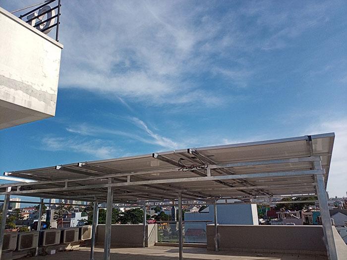 Lắp đặt hệ thống điện mặt trời nối lưới 12KW cho khách sạn GIA AN ở Bà Rịa Vũng Tàu 11