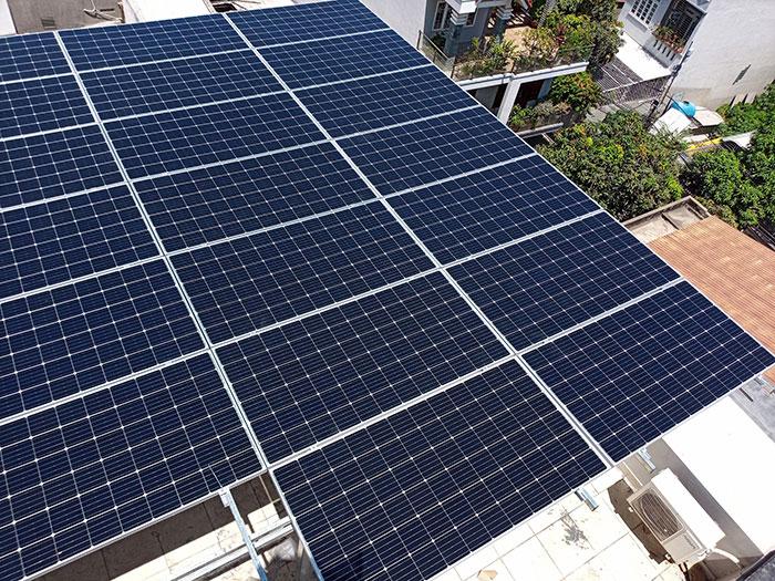 Lắp đặt hệ thống điện mặt trời nối lưới 12KW cho khách sạn GIA AN ở Bà Rịa Vũng Tàu 16