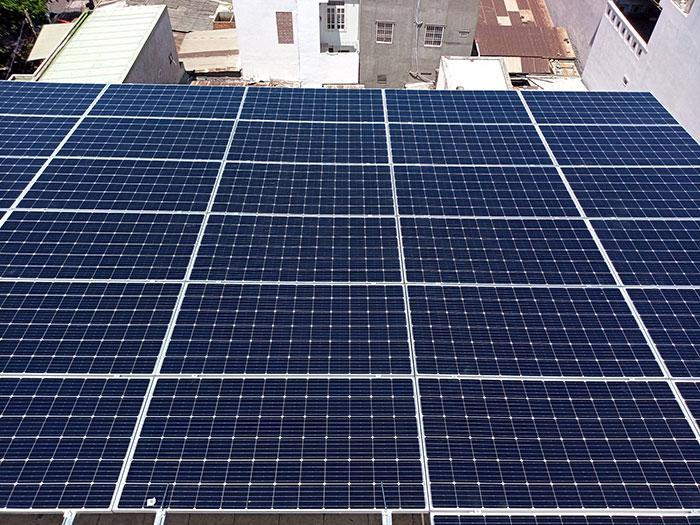 Lắp đặt hệ thống điện mặt trời nối lưới 12KW cho khách sạn GIA AN ở Bà Rịa Vũng Tàu 20