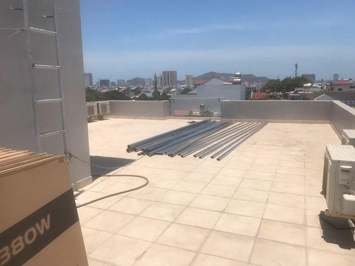 Lắp đặt hệ thống điện mặt trời nối lưới 12KW cho khách sạn GIA AN ở Bà Rịa Vũng Tàu 3