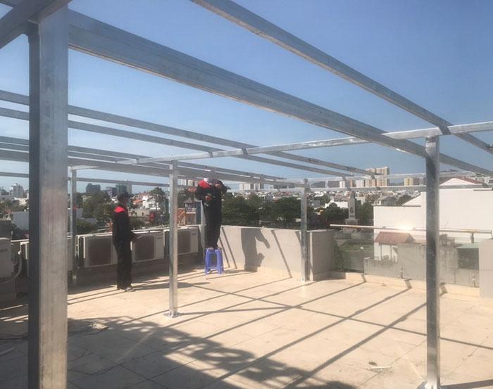 Lắp đặt hệ thống điện mặt trời nối lưới 12KW cho khách sạn GIA AN ở Bà Rịa Vũng Tàu 5