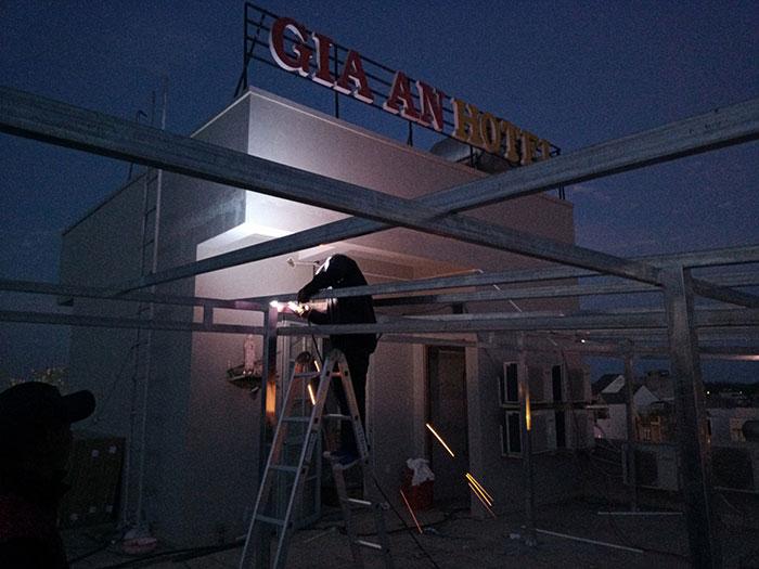 Lắp đặt hệ thống điện mặt trời nối lưới 12KW cho khách sạn GIA AN ở Bà Rịa Vũng Tàu 8