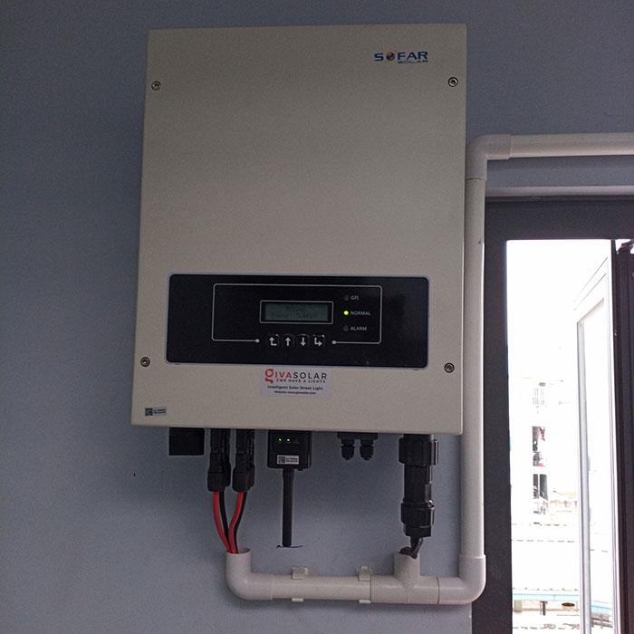 Hòan thành dự án hòa lưới điện mặt trời 10KW cho anh Trí ở Bình Thạnh 7