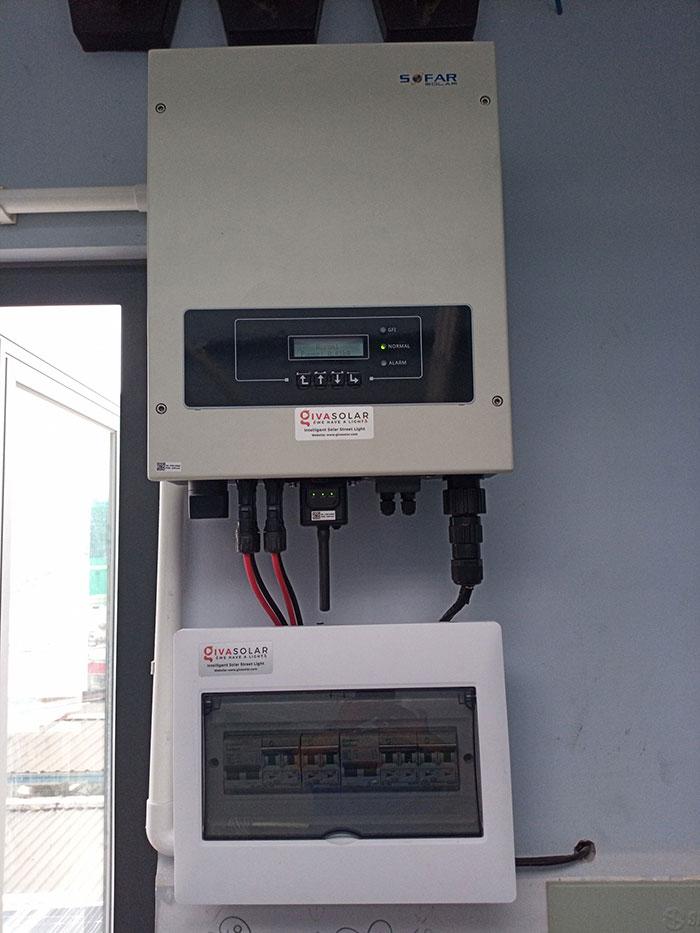 Hòan thành dự án hòa lưới điện mặt trời 10KW cho anh Trí ở Bình Thạnh 8