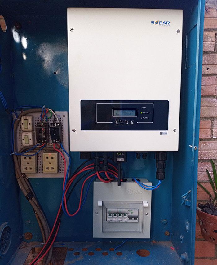 Hoàn thành dự án hòa lưới điện mặt trời 5KW cho chú Vũ ở Bình Dương 7