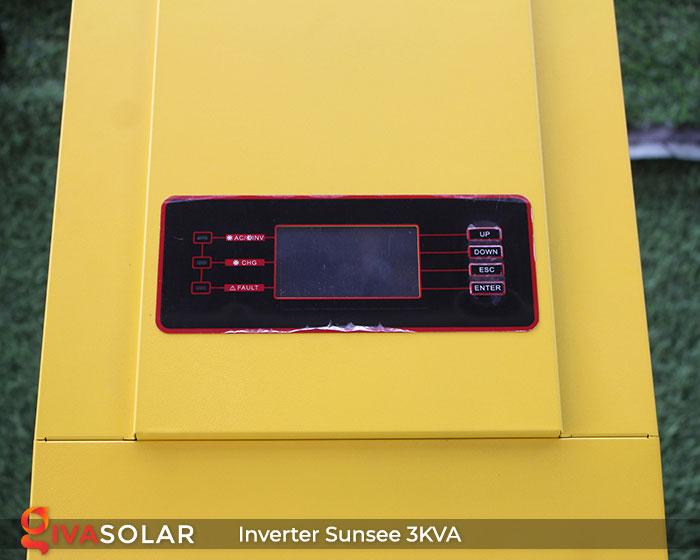 Inverter Solar Off-Grid SAKO SUNSEE 3KVA 4