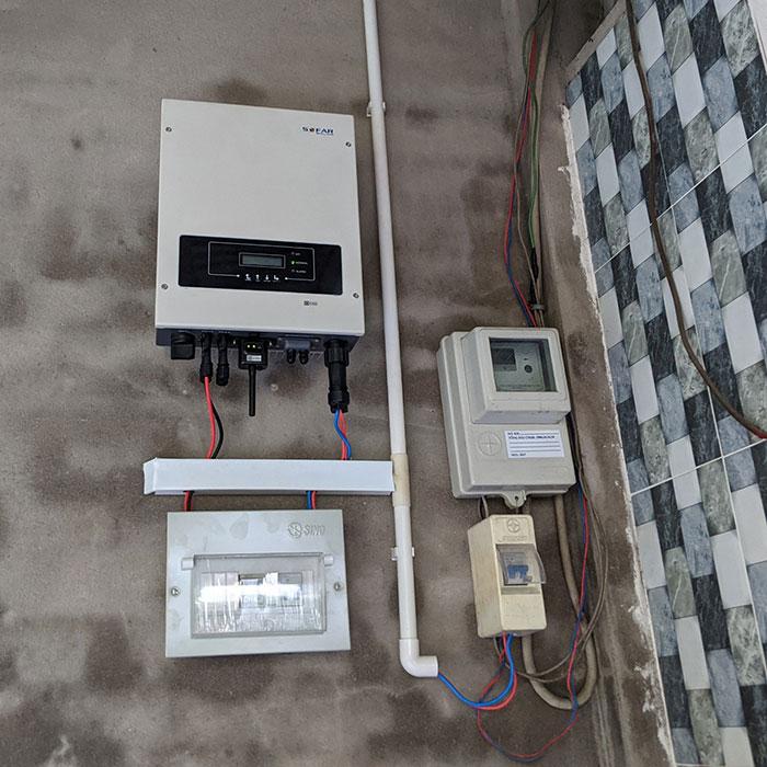 dự án điện mặt trời hòa lưới 3KW cho gia đình chị Oanh ở Củ Chi 6