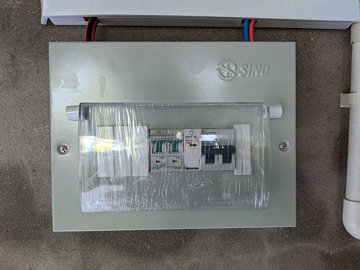 dự án điện mặt trời hòa lưới 3KW cho gia đình chị Oanh ở Củ Chi 8