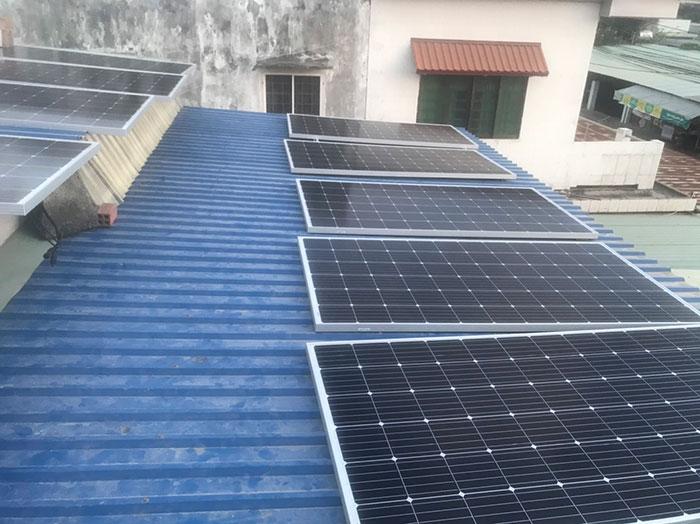 lắp điện mặt trời áp mái 4KW cho gia đình anh Hùng ở Vũng Tàu 3