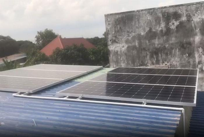 lắp điện mặt trời áp mái 4KW cho gia đình anh Hùng ở Vũng Tàu 4