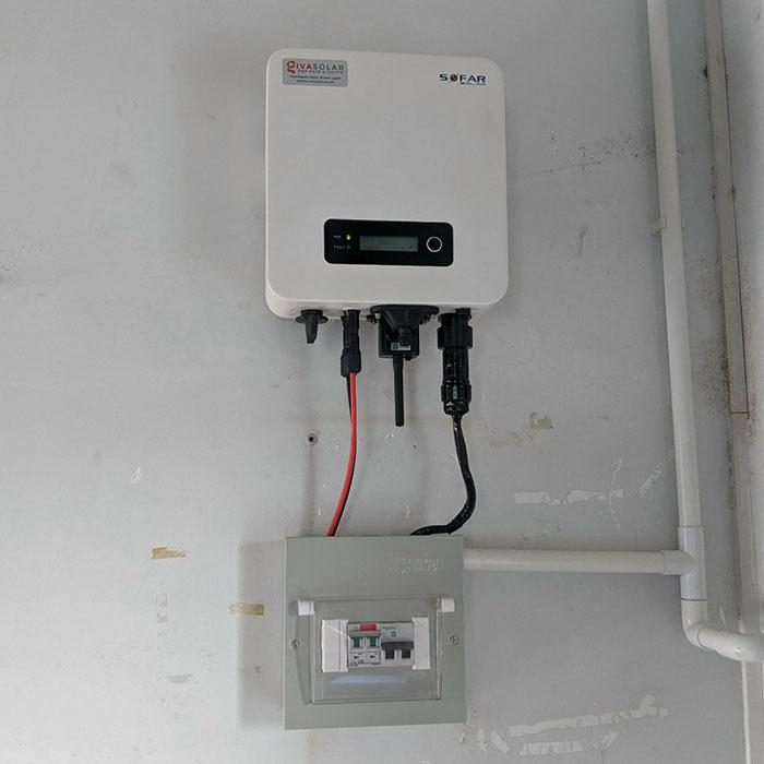 lắp điện mặt trời áp mái 4KW cho gia đình anh Hùng ở Vũng Tàu 6