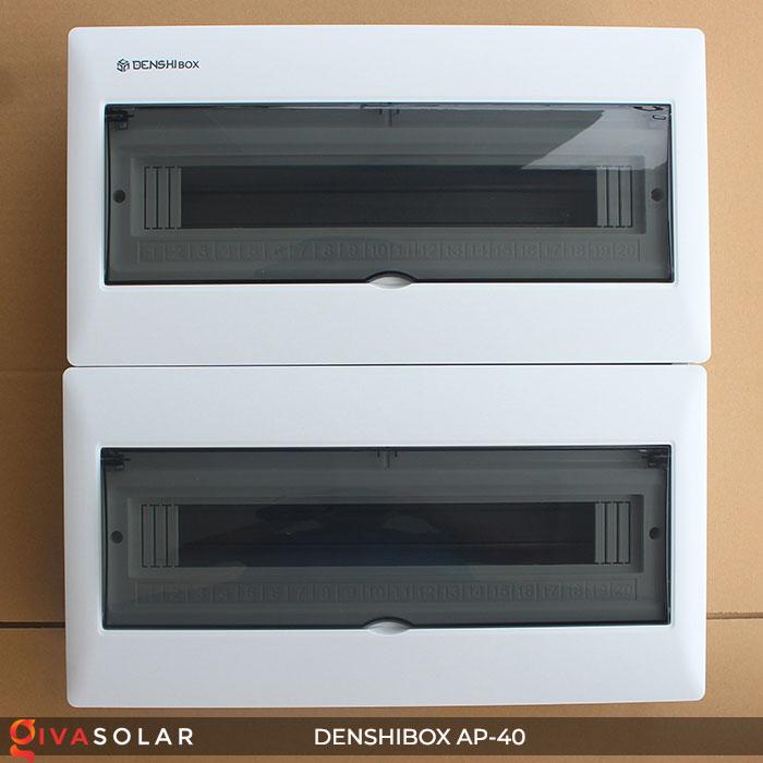 Tủ điện solar Denshibox GV-AP-40 40 đường 1