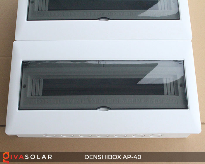 Tủ điện solar Denshibox GV-AP-40 40 đường 3