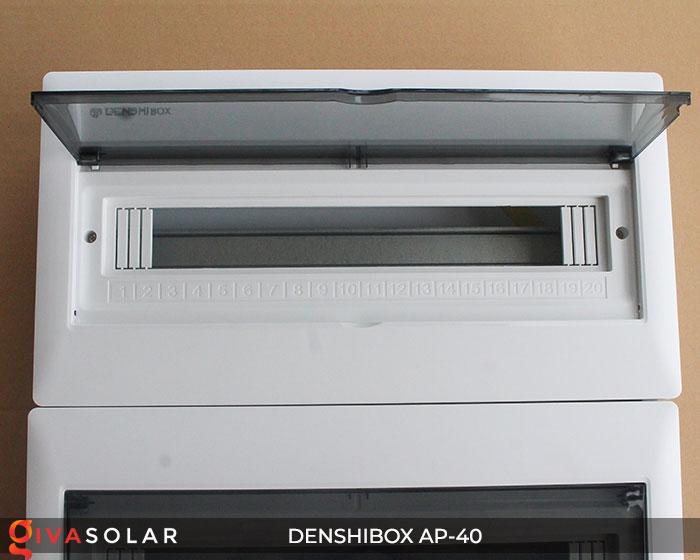 Tủ điện solar Denshibox GV-AP-40 40 đường 5