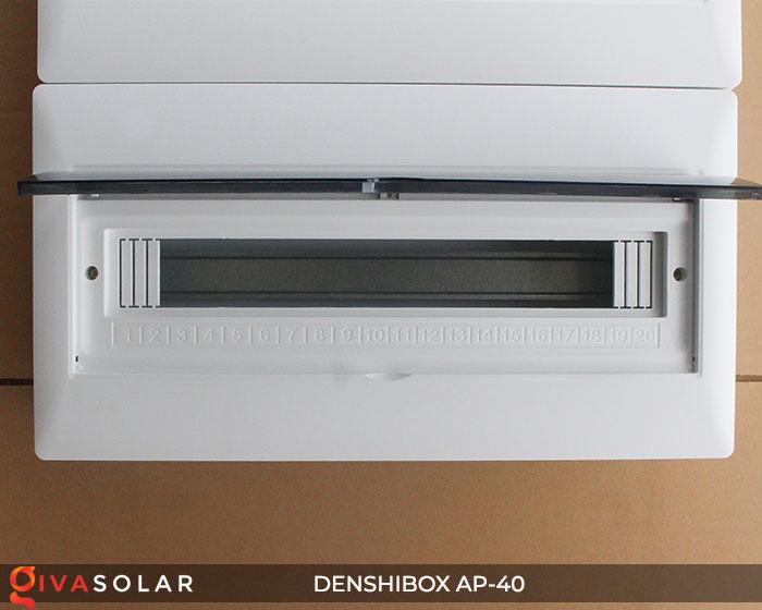 Tủ điện solar Denshibox GV-AP-40 40 đường 6