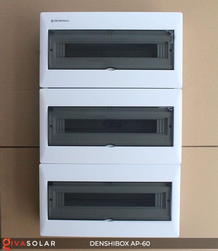 Tủ điện năng lượng mặt trời Denshibox AP-60 60 đường 1