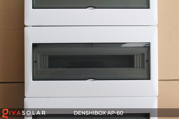 Tủ điện năng lượng mặt trời Denshibox AP-60 60 đường 3