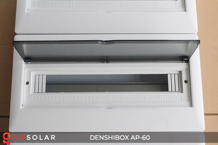 Tủ điện năng lượng mặt trời Denshibox AP-60 60 đường 6
