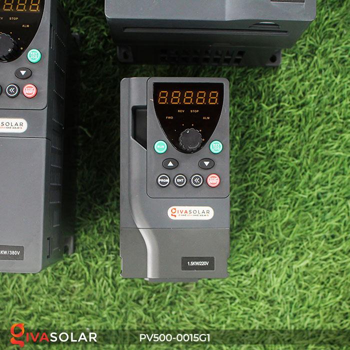 Biến tần hệ bơm năng lượng mặt trời PV500-0015G1 1.5KW 2hp 1