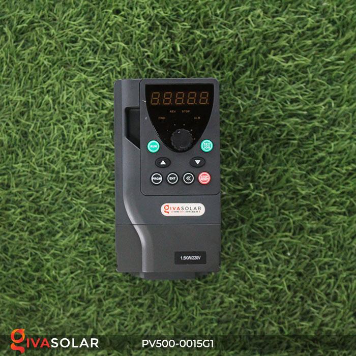 Biến tần hệ bơm năng lượng mặt trời PV500-0015G1 1.5KW 2hp 2
