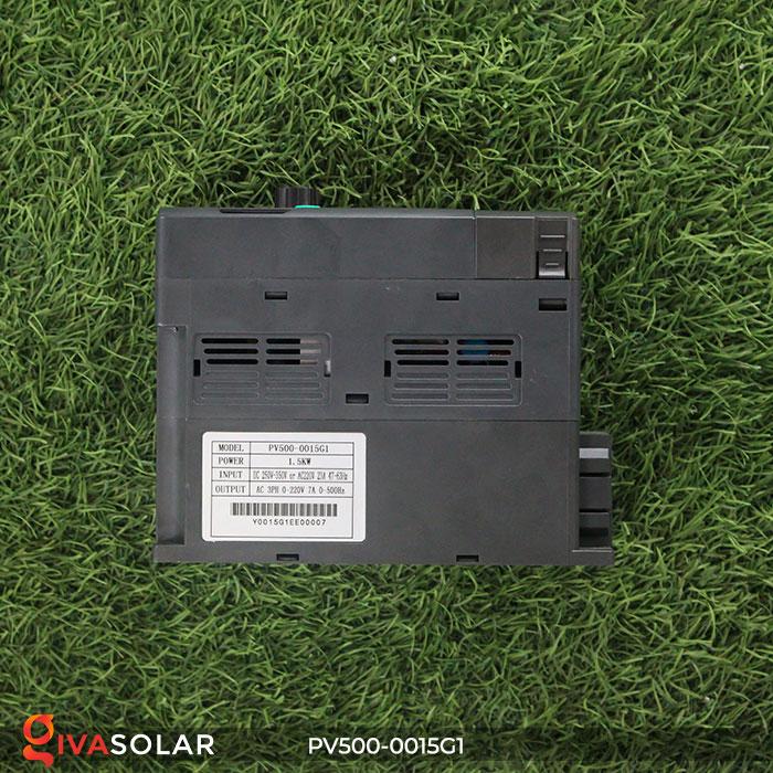 Biến tần hệ bơm năng lượng mặt trời PV500-0015G1 1.5KW 2hp 5