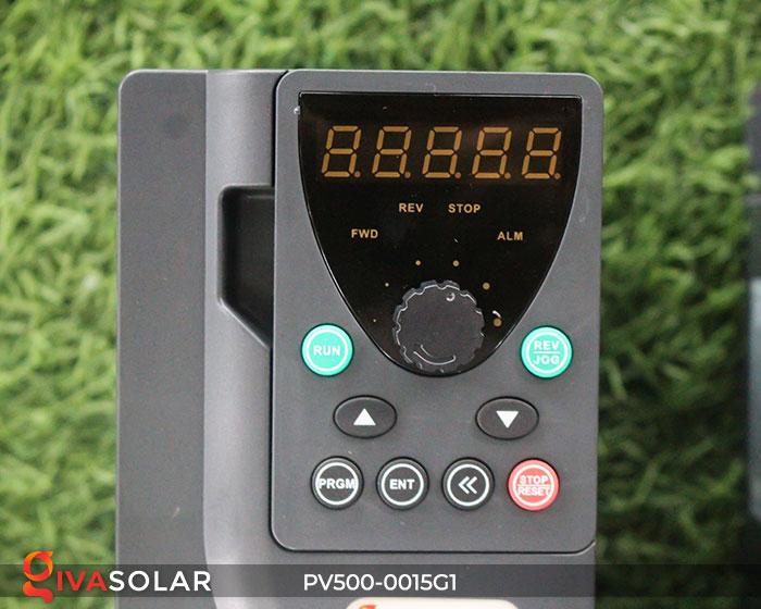 Biến tần hệ bơm năng lượng mặt trời PV500-0015G1 1.5KW 2hp 7