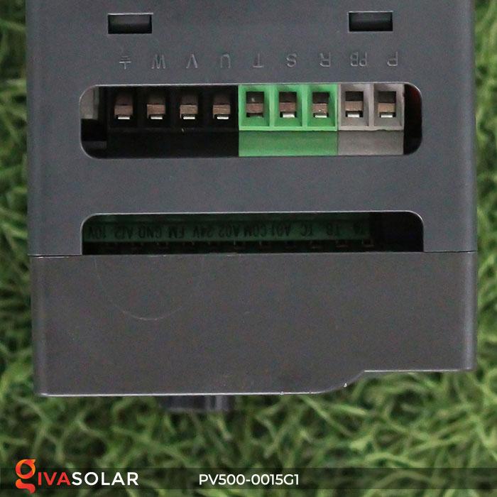 Biến tần hệ bơm năng lượng mặt trời PV500-0015G1 1.5KW 2hp 9