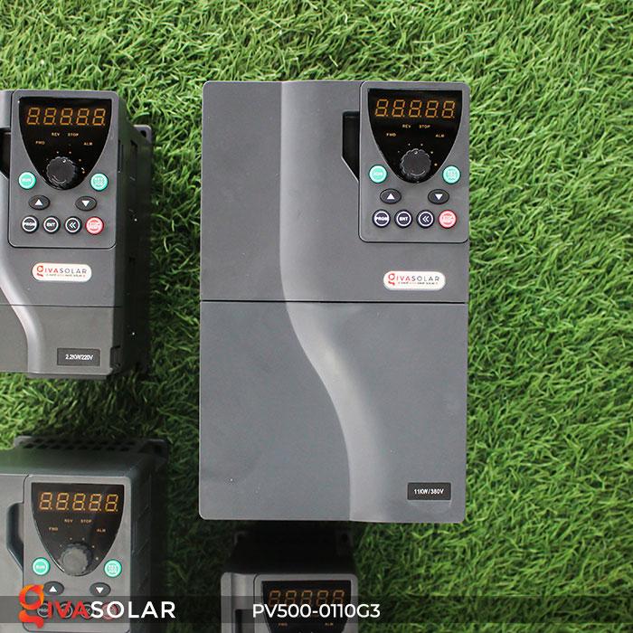 Biến tần hệ thống bơm nước mặt trời PV500-0110G3 11KW 1