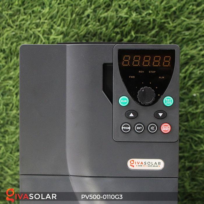 Biến tần hệ thống bơm nước mặt trời PV500-0110G3 11KW 7