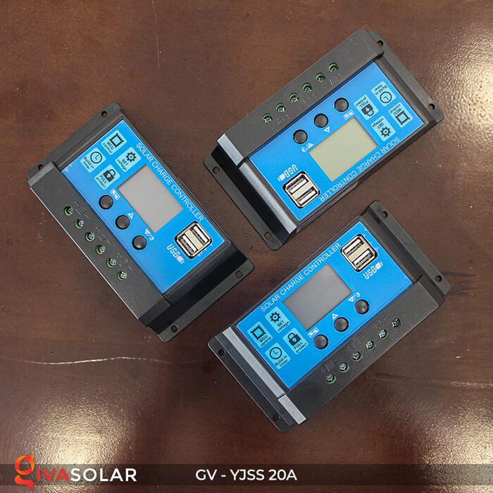 Bộ điều khiển sạc năng lượng mặt trời GV-YJSS-20A 1