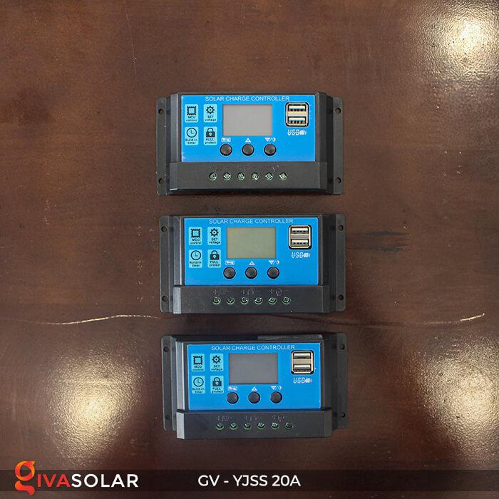 Bộ điều khiển sạc năng lượng mặt trời GV-YJSS-20A 2