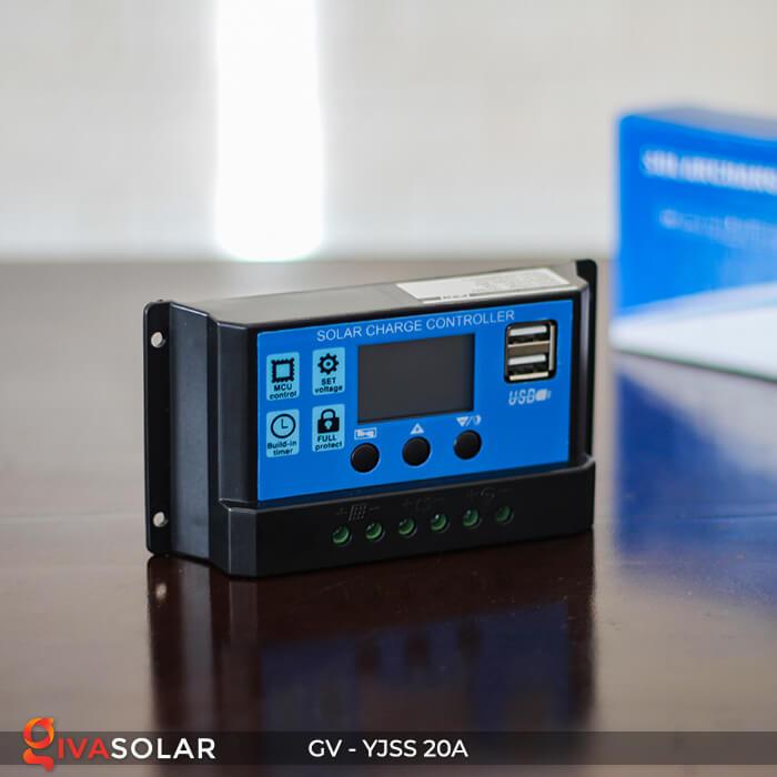 Bộ điều khiển sạc năng lượng mặt trời GV-YJSS-20A 3