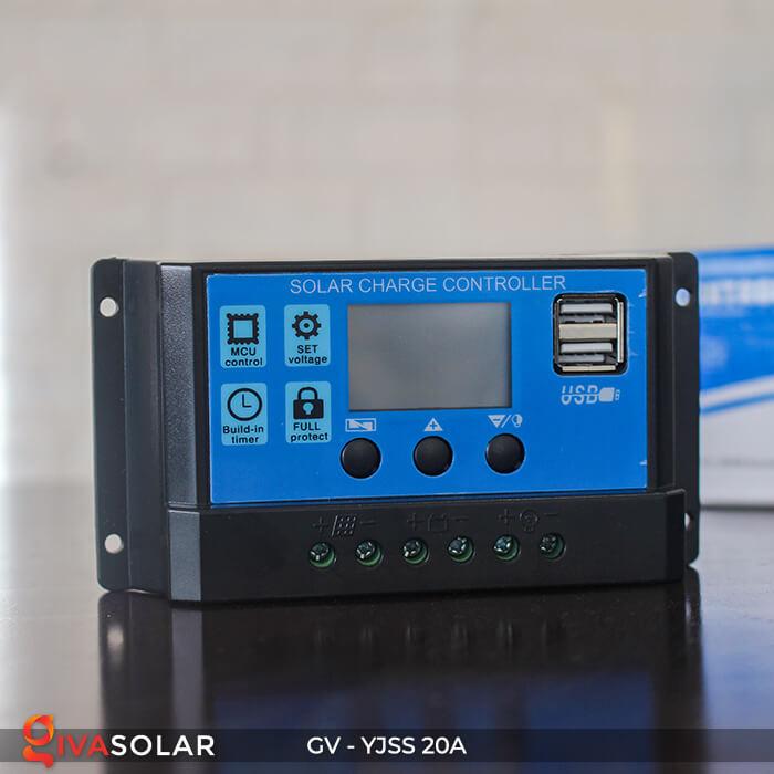Bộ điều khiển sạc năng lượng mặt trời GV-YJSS-20A 4