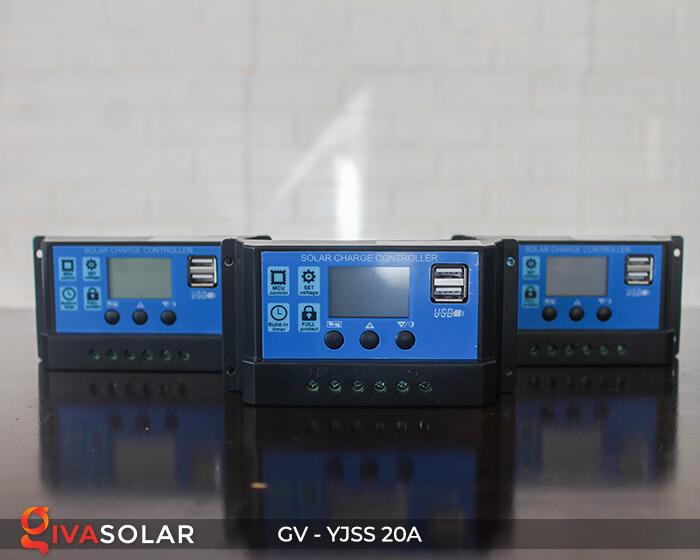 Bộ điều khiển sạc năng lượng mặt trời GV-YJSS-20A 9
