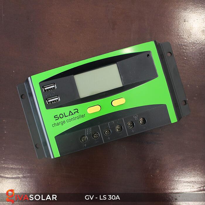 Bộ điều khiển sạc pin mặt trời GV-LS-30A 1