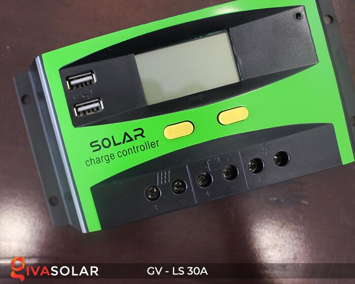 Bộ điều khiển sạc pin mặt trời GV-LS-30A 2