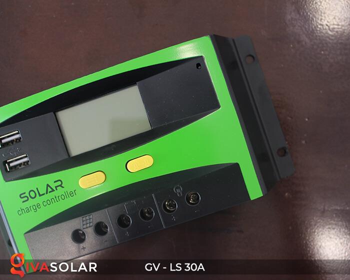 Bộ điều khiển sạc pin mặt trời GV-LS-30A 3