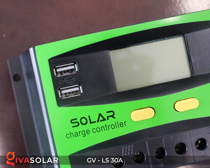 Bộ điều khiển sạc pin mặt trời GV-LS-30A 4
