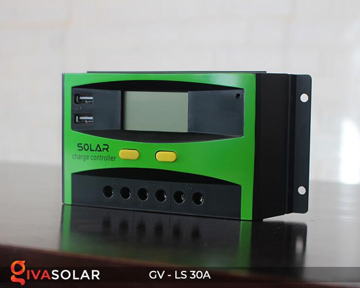 Bộ điều khiển sạc pin mặt trời GV-LS-30A 7