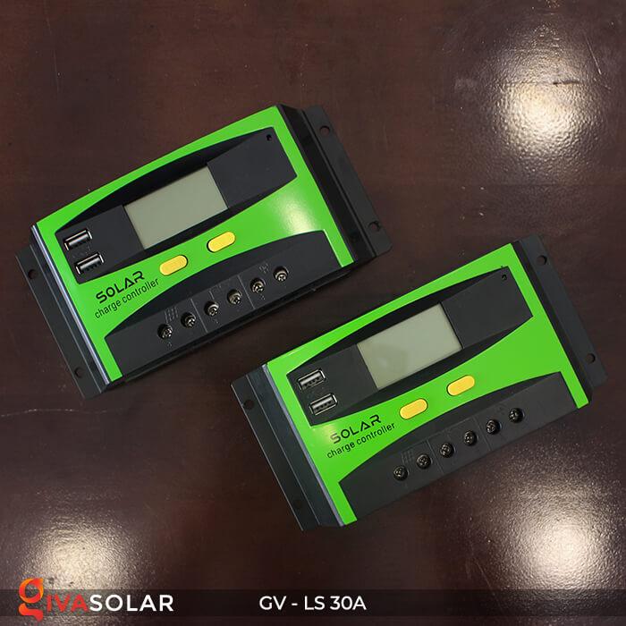 Bộ điều khiển sạc pin mặt trời GV-LS-30A 8