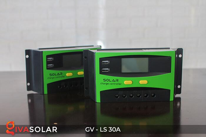 Bộ điều khiển sạc pin mặt trời GV-LS-30A 9