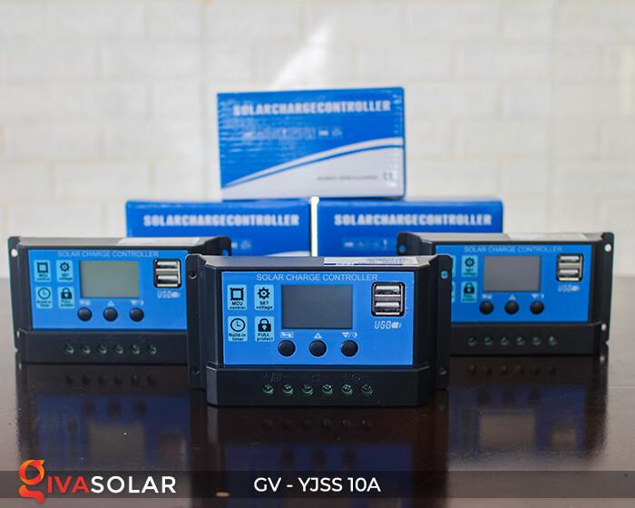 Bộ điều khiển sạc pin năng lượng mặt trời GV-YJSS-10A 10