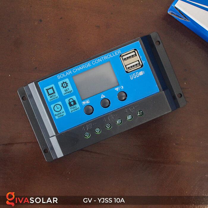 Bộ điều khiển sạc pin năng lượng mặt trời GV-YJSS-10A 5