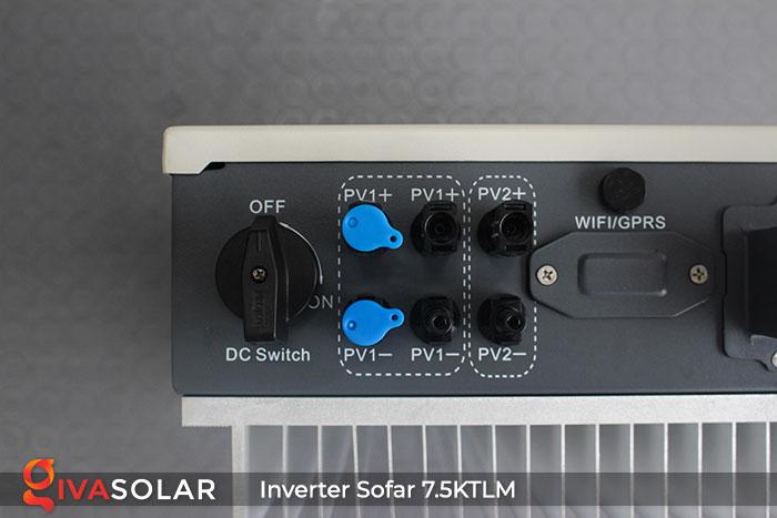 Bộ hòa lưới điện mặt trời Sofar 7.5KTLM 10
