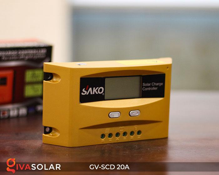 Bộ sạc năng lượng mặt trời GV-SCD-20A 2