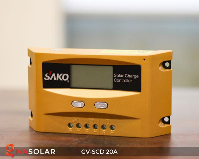Bộ sạc năng lượng mặt trời GV-SCD-20A 3