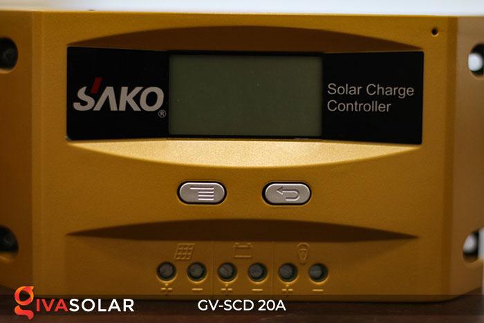 Bộ sạc năng lượng mặt trời GV-SCD-20A 5