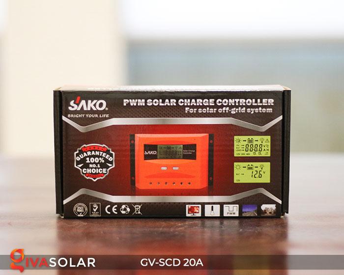 Bộ sạc năng lượng mặt trời GV-SCD-20A 6